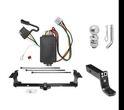 """Class 3 Trailer Hitch Tow Kit w/ 2"""" Ball & Wiring for 2005-2010 Odyssey Van"""