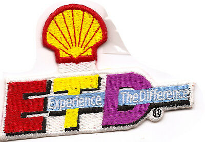 Shell Experience Gas Patch Embroidered Herald Oil