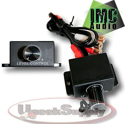 BRAND NEW Universal Car Amplifier Bass RCA Level Volume Control Knob AALC LC-1