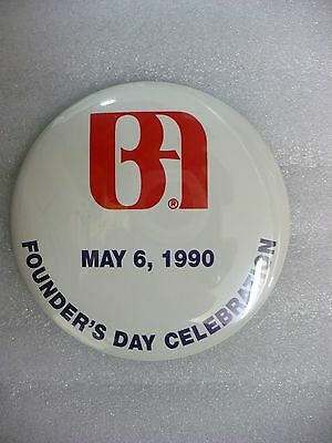 ND- BOA (BANK OF AMERICA)  MAY 6,1990 FOUNDER'S DAY CELEBRATION PIN  #21751