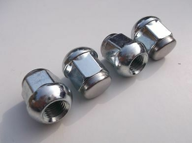 4 x Wheel Nuts Fit Rover 25 / 45 MG ZR / ZS With Alloy & Steel Wheels (PE1068)