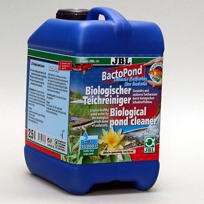 JBL bactopond 2,5L - Care Algae Nutrients Pond Bacteria Reduction Care