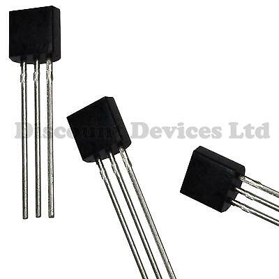 10x TMP36GT9Z Analog Low Voltage Precision Temperature Sensor (Linear) IC TO-92