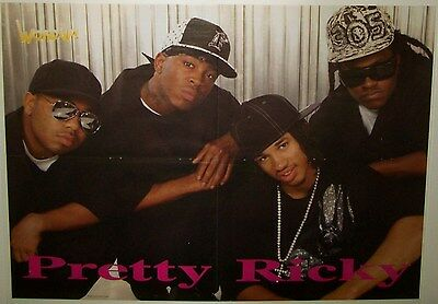 """PRETTY RICKY - PLEASURE P - OMARION - B2K - 22""""x16"""" POSTER - DOUBLE SIDED - 2006"""