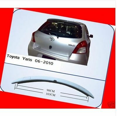 Spoiler Wing OE Style for Toyota Yaris Hatchback 4dr 2dr