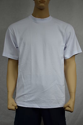 6 New Shaka Wear Super Max Heavy Weight T-Shirts Warm White Tee Plain 2Xl