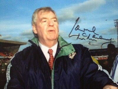 Lawrie Mcmenemy - Former Ireland  Manager - Superb Signed Colour Photograph