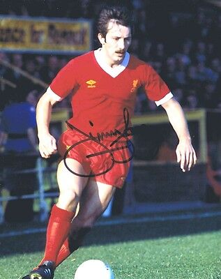 Jimmy Case - Liverpool Legend - Stunning Signed Colour Photograph