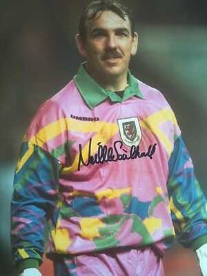 Neville Southall - Everton & Wales Keeper - Signed Colour Photograph