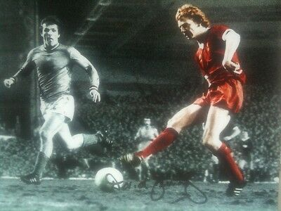 David Fairclough - Liverpool Legend - Superb Signed Colourised Action Photo