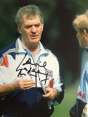 Lawrie Mcmenemy - Former England Manager - Superb Signed Colour Photograph