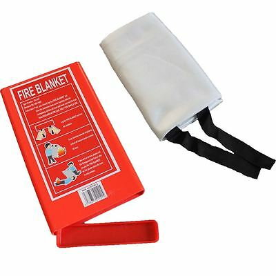 Brand New Sealed Home Fire Safety Blanket 1M X 1M