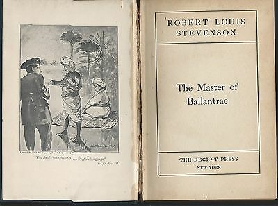 The master of ballantrae by robert louis steveson hardcover regent press undated