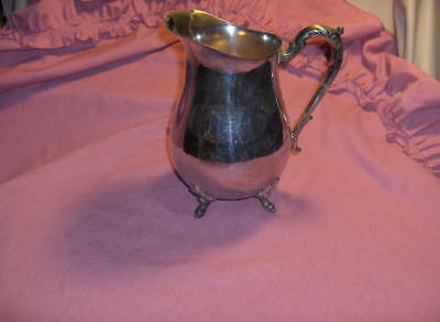 Vintage Beautiful Silver Plated Water Pitcher