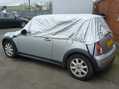 BMW Mini Cooper R52, R57 Cabriolet 2005-2016 Half Size Car Cover