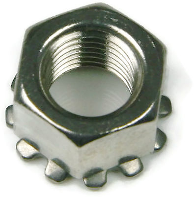 Stainless Steel Keps K Lock Nut UNC 1/4-20, Qty 100