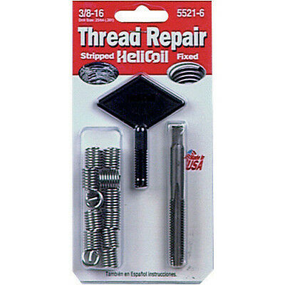 "Helicoil 5521-6 Thread Repair Kit 3/8""-16 x .562"