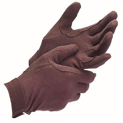 Pimple Riding Gloves, Small Medium Large  Extra small black brown White