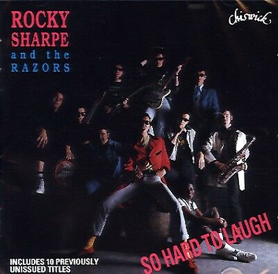 ROCKY SHARPE AND THE RAZORS So Hard To Laugh CD NEW UK IMPORT REPLAYS DARTS