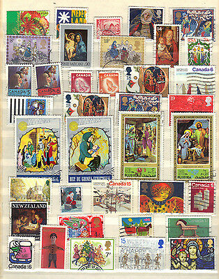 CHRISTMAS RELIGION Thematic Stamp Collection REF:PA584