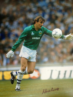 Neville Southall - Everton & Wales Goalkeeper -  Superb Signed Colour Photo