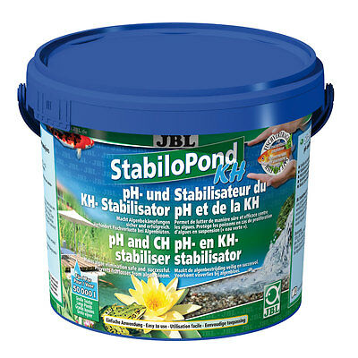 JBL StabiloPond KH 5kg - Algae Carbon PH Heavy metals PH Pond Water Care