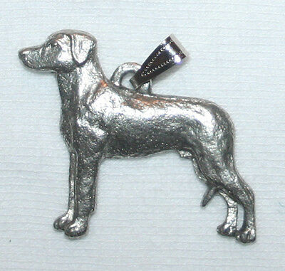 Rhodesian Ridgeback Dog Harris Fine Pewter Pendant USA Made