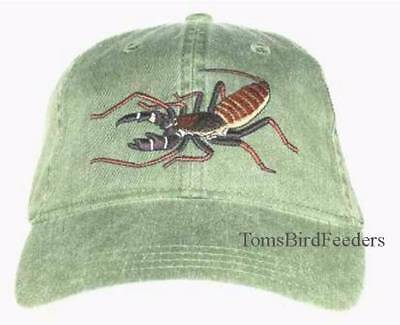 Vinegaroon Embroidered Cap NEW Whip Scorpion Hat