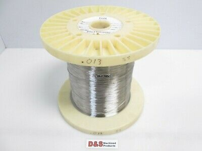 "Fort Wayne Metals 304V Stainless Steel Wire 0.013"" Diameter Approx. 11,000FT"
