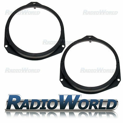 "Fiat Ducato / Grande Punto Speaker Adaptor Rings Front Doors 6.5"" 165mm SAK-1400"