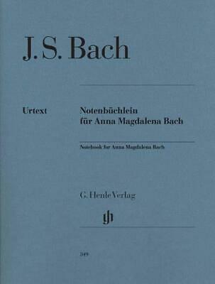J.S. Bach: Notebook For Anna Magdalena Bach (Urtext Edition) Piano Sheet Music I
