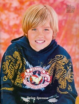 Dylan & Cole Sprouse - The Suite Life - Pinup - Poster - Blonde Teen Boy Actor