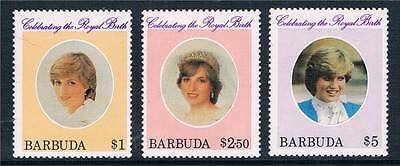 Barbuda  1982 Birth of Prince William INV WMK SG 613w/5w MNH