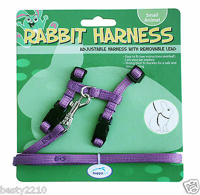 Happy Pet Rabbit Harness And Lead Set