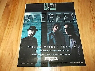Bee Gees-2001 large magazine advert