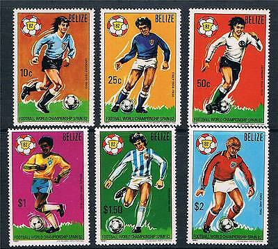 Belize 1981 World Cup Football SG 664-9 MNH