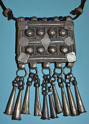 Antique Ethiopian Orthodox Tewahedo Christian Engagement Necklace With Dangles