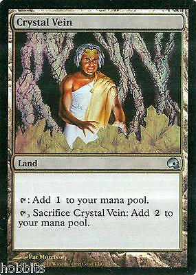 NM-Mint 4 x MTG Crystal Vein English Foil Premium Deck Series: Graveborn