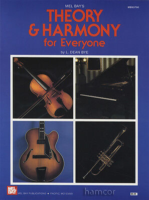 Theory & Harmony for Everyone Music Book for All Instruments