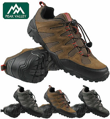 New Mens Quality Hiking Boots Treking Trail Walking Trainers Shoes Boots Sizes