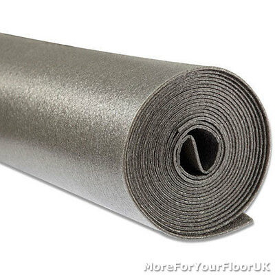 Graphite Carpet Underlay 6mm Great Value - Budget, CHEAP!