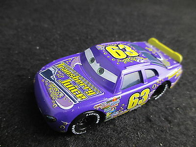 Disney Cars #63 Racer Transberry Juice Lee Revkins 1/55 Diecast Vehicle