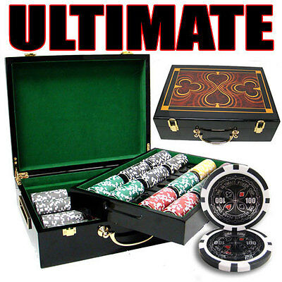 Ultimate 500pc 14 Gram Poker Chip Set w/Hi Gloss Case
