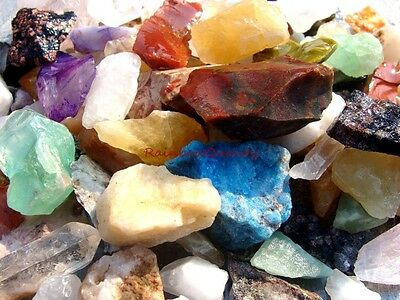 CRAFTERS ROCK MIX - 1 LB Lots - Perfect for Crafts, Mosaics, Crystals, Jewelry