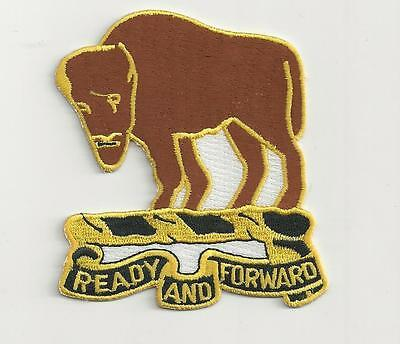 Us Army Patch - 10Th Cavalry Regiment - Buffalo Soldiers
