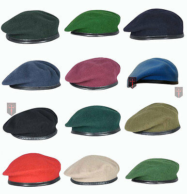 Large Selection High Quality British Military Berets All sizes - Officers - OR's