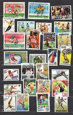 SPORTS Thematic Stamp Collection REF:PA744