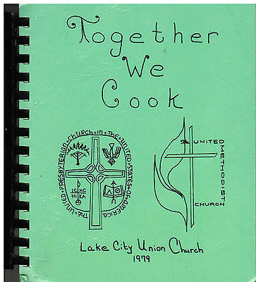 Lake City Ia 1979 Vintage Union Church * Ethnic Iowa Cook Book *Together We Cook