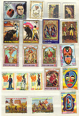Africa GUINEA Stamp Collection ART REF:PA801