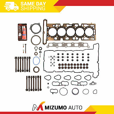 Full Gasket Set Head Bolts Fit 04-06 Chevrolet Corolado Hummer H3 GMC Canyon 3.5